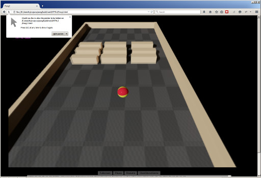 Unreal Engine running in a web browser