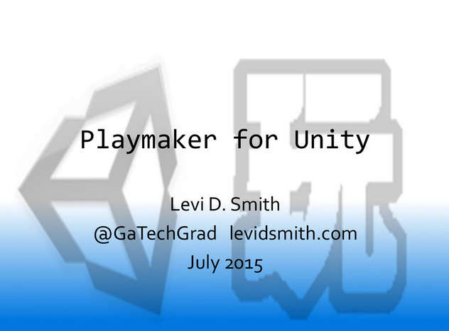 Playmaker for Unity