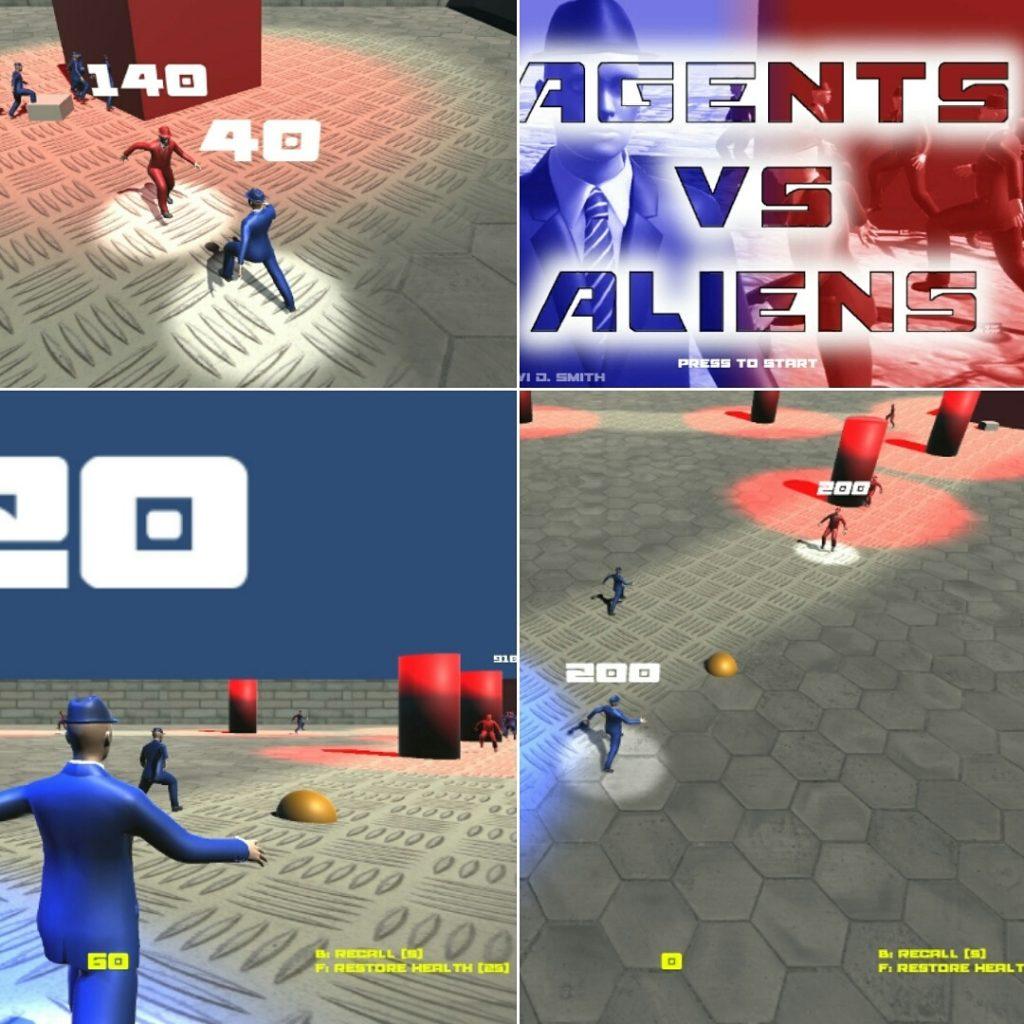 Agents vs Aliens