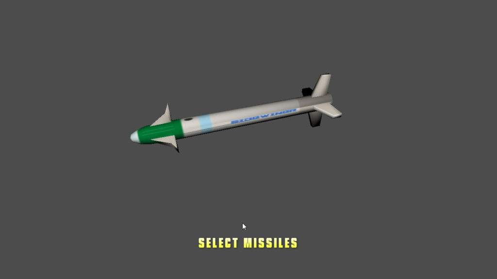 Missile select