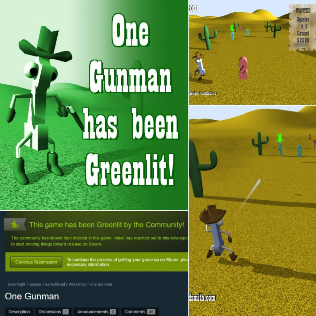 oneguman-greenlit