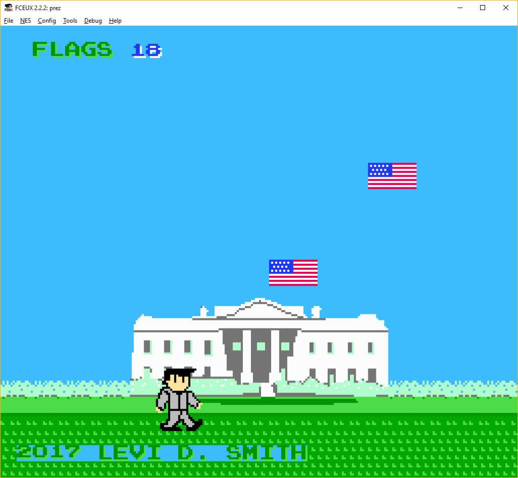 Prez gameplay